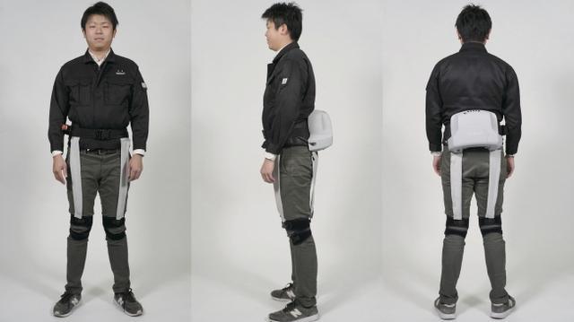 画像: 着るロボット「パワードウェア」一人で脱ぎ着できるプロトタイプを開発/ATOUN