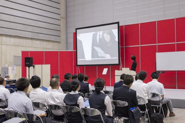 画像: 同社では会期中の両日にセミナーを開催しており、こちらも大勢の来場者を集めていた