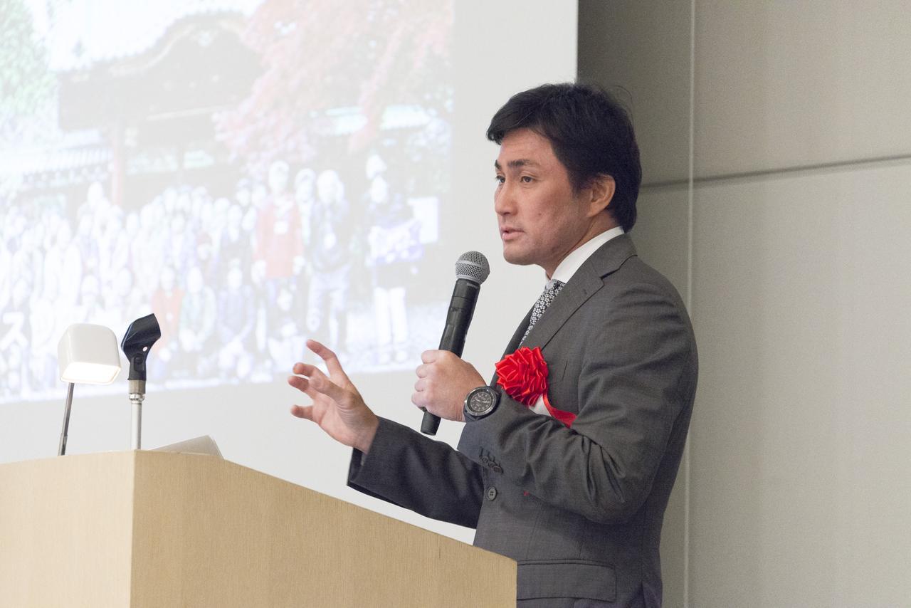 画像: 6月29日のシンポジウムで講演した中川貴之社長。テーマは、「どうなる?! これからの葬儀業界の集客方法」~アーバンフューネスの事例からみる! 集客方法の未来とは? ユーザーニーズの変化やこれからの喪主世代を対象にしたWEB集客を探る~