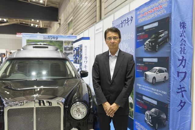 画像: カワキタの河村賢整代表取締役