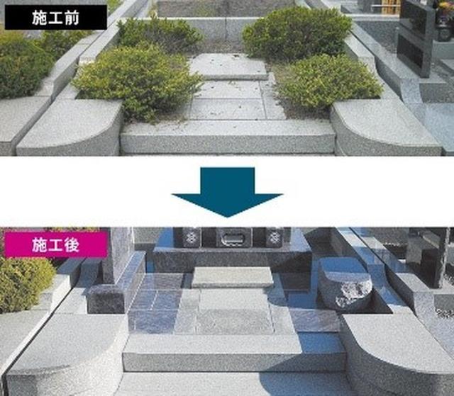 画像4: お盆にお墓参りをする際にはお墓のコンディションをチェック/株式会社メモリアルアートの大野屋
