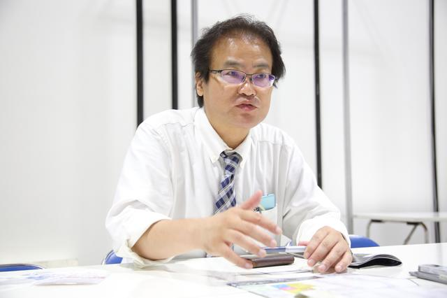 画像: 産経新聞東京本社の赤堀正卓部長