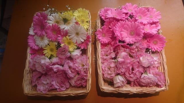 画像: 写真は実例です。こちらの花はお別れ花