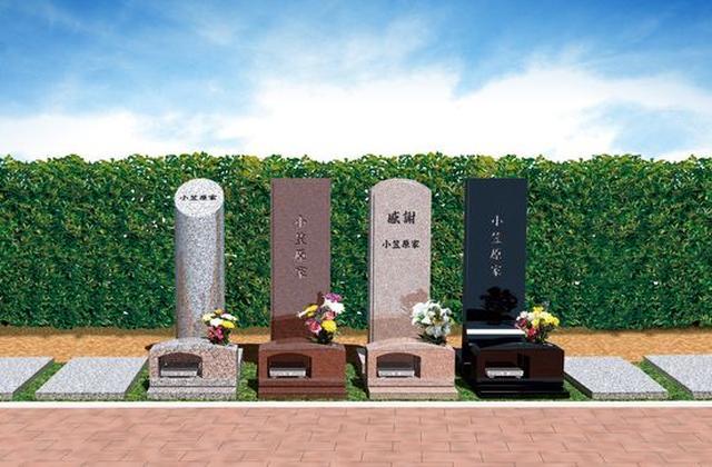画像: 樹木墓(じゅもくぼ)