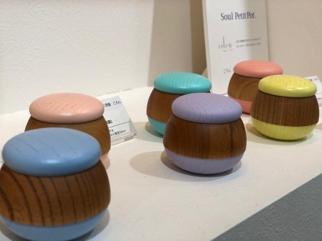 人気の木製ミニ骨壷