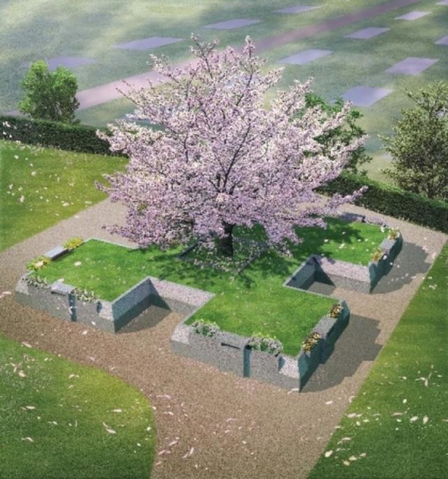画像: 千早赤阪メモリアルパーク「家族永代供養さくら」の特徴