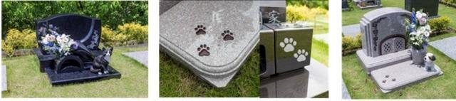 画像: 施工例のご紹介~大切なペットの思い出をあなただけのデザイン墓石で~