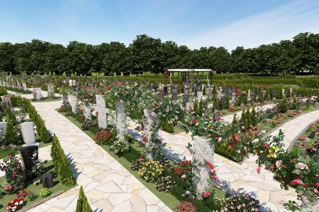 画像: ▲上海の霊園のVR