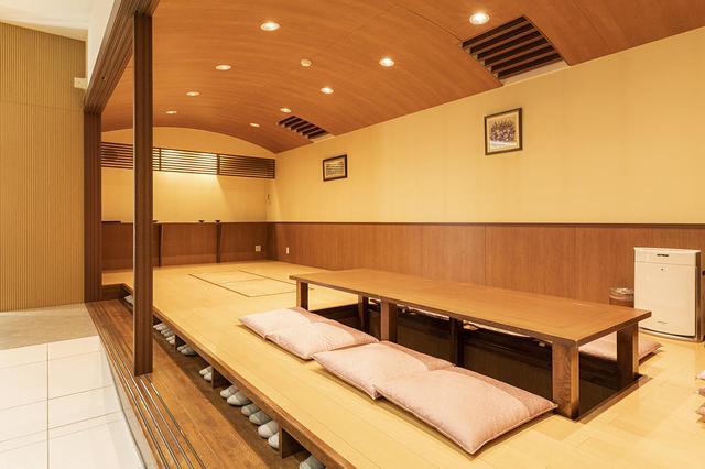 画像: 会食室としての利用がメインだが、希望すれば寝室としても利用できる