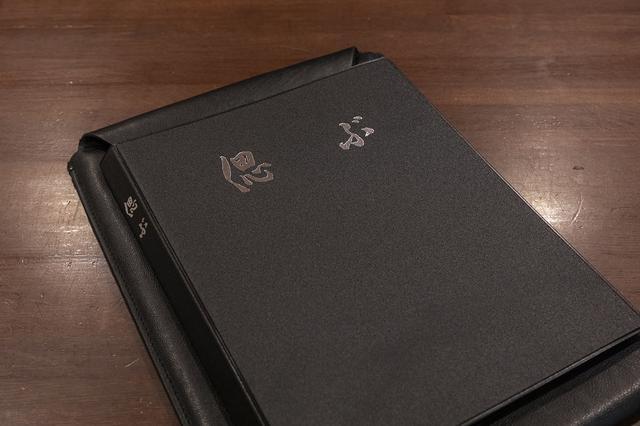 画像: 重厚な装丁の「香典帳」