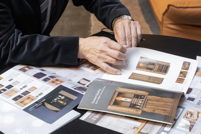 画像: 「メモリーナ」ブランドは、現在14型28種を展開。 今後、40型程度まで増やしていきたいとのこと