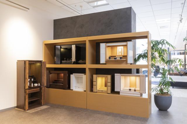 画像: 東京・赤坂にあるショールームでの展示 www.francebed.co.jp