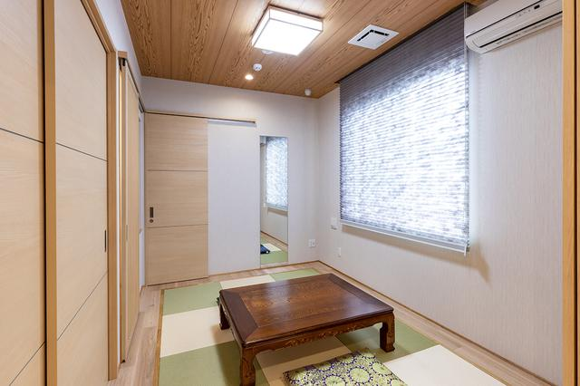 画像: 僧侶控室と寝室、どちらにも使える和室