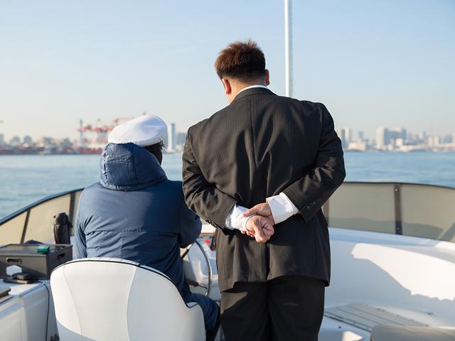 画像: 虎視眈々と船長の椅子を狙う、清水さん