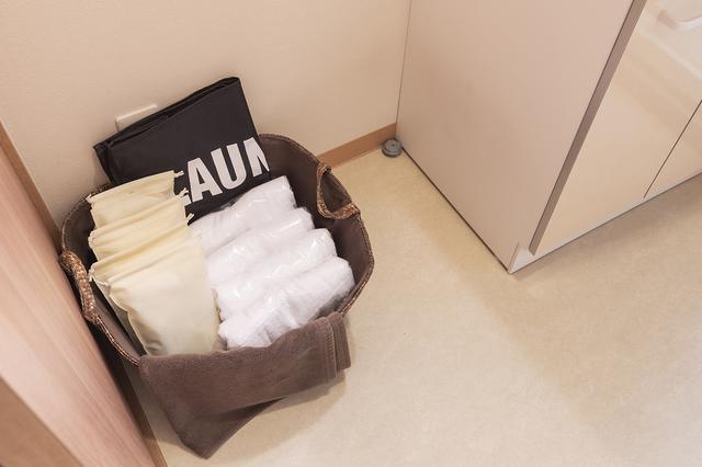 画像: タオルとアメニティを完備
