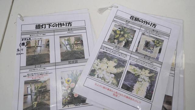 画像: 写真とともに、説明書きが手順を追って示されたマニュアル