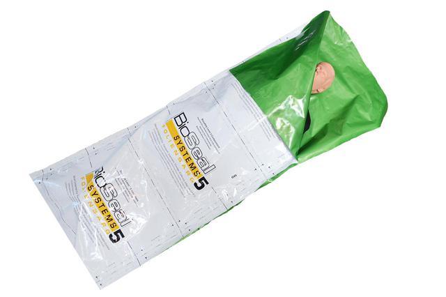 画像1: ご遺体からの感染リスクに備えた納体袋「バイオシール」販売/株式会社銀河ステージ