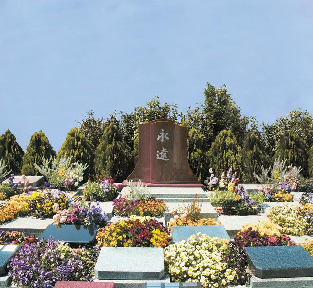 画像: お花がきれいな樹木葬