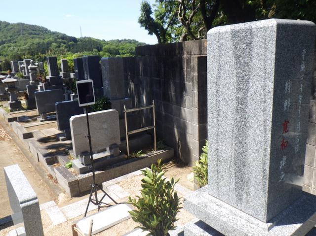 画像1: 墓石職人が掃除や献花・墓参りをセットで提供「オンライン墓参り」/有限会社かの石材