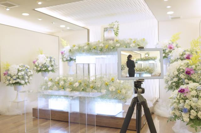 画像1: メモリアルアートの大野屋、「お葬式オンライン参列」無料提供開始。