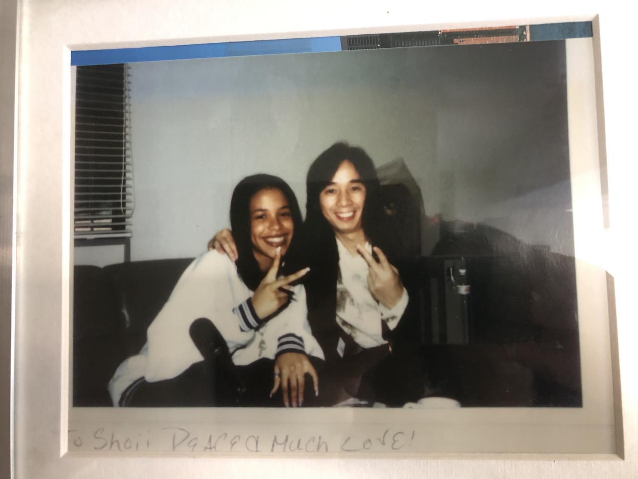 画像: 16歳のAaliyah