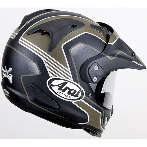 画像2: アライヘルメット×谷尾のツアークロス3 デザートが、アドベンチャーバイクに似合う件