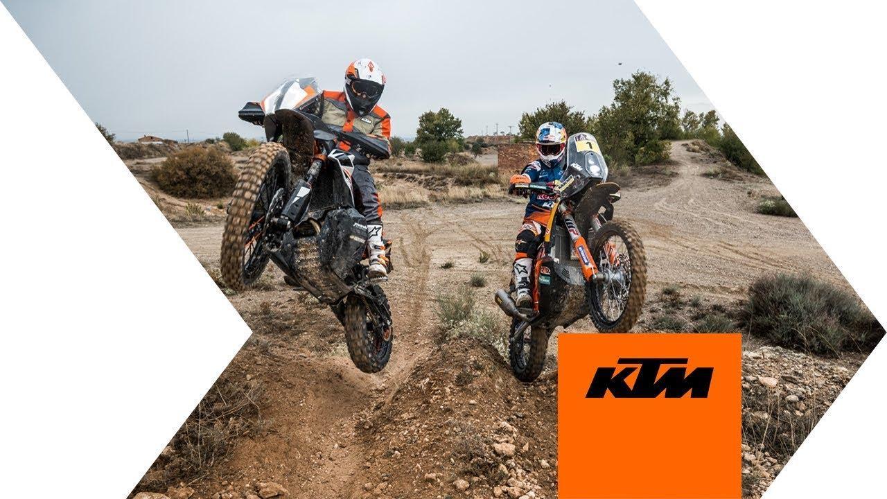 画像: KTM 790 ADVENTURE R - rediscover true adventure | KTM www.youtube.com
