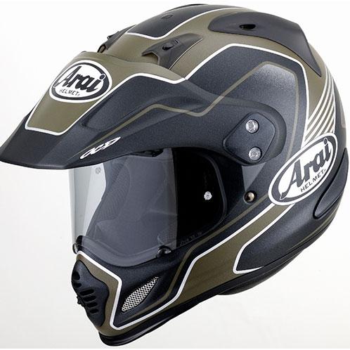 画像1: アライヘルメット×谷尾のツアークロス3 デザートが、アドベンチャーバイクに似合う件