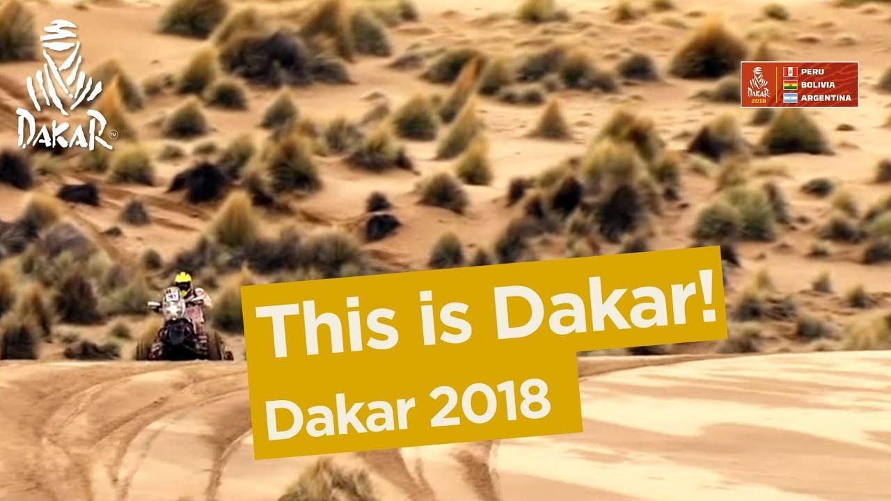 画像: This is Dakar! - Dakar 2018 youtu.be