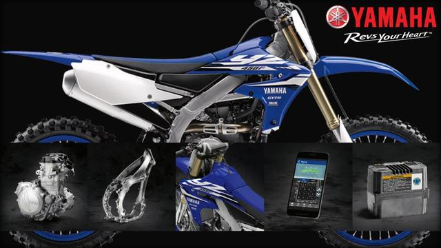 画像: 2018 Yamaha YZ450F Features & Benefits youtu.be