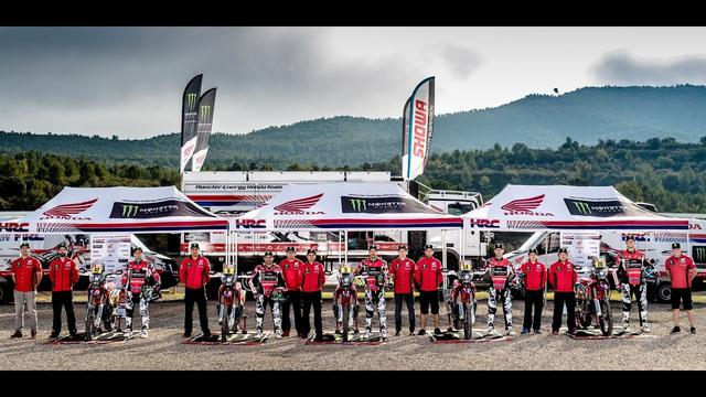 画像: Motosx1000: Presentación Monster Energy Honda Team Dakar 2018 youtu.be