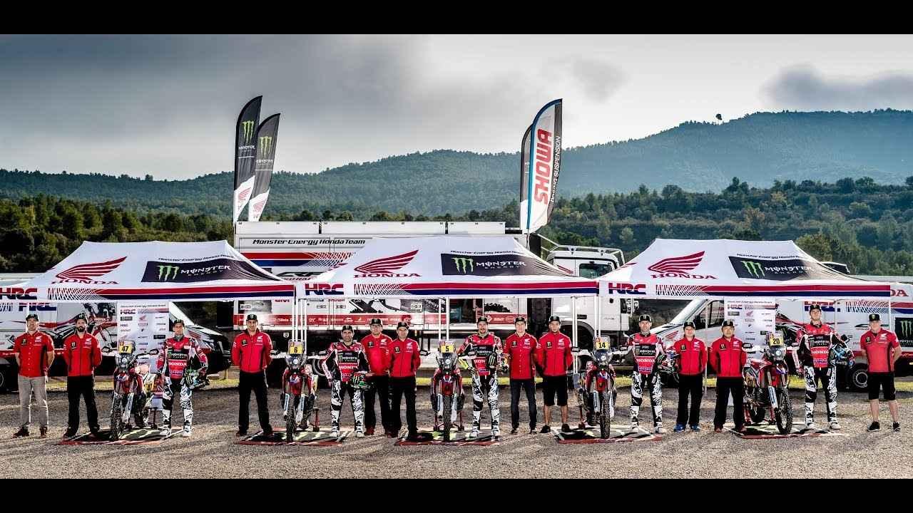 画像: Motosx1000: Presentación Monster Energy Honda Team Dakar 2018 youtu.be