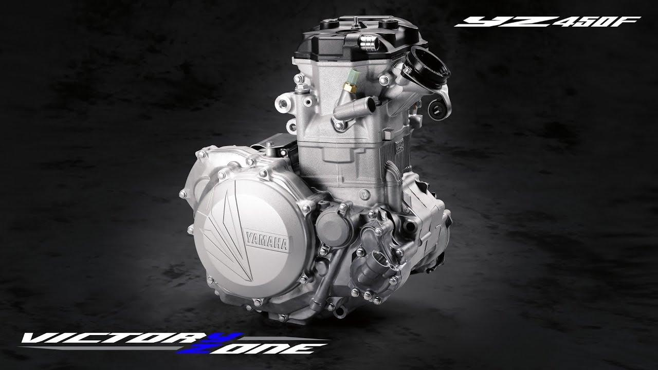 画像: 2018 Yamaha YZ450F | Engine youtu.be