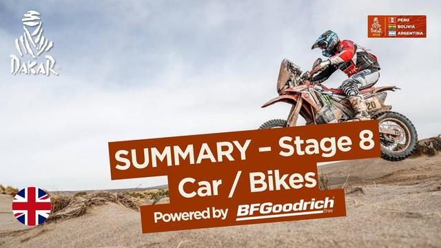 画像: Summary - Car/Bike - Stage 8 (Uyuni / Tupiza) - Dakar 2018 youtu.be