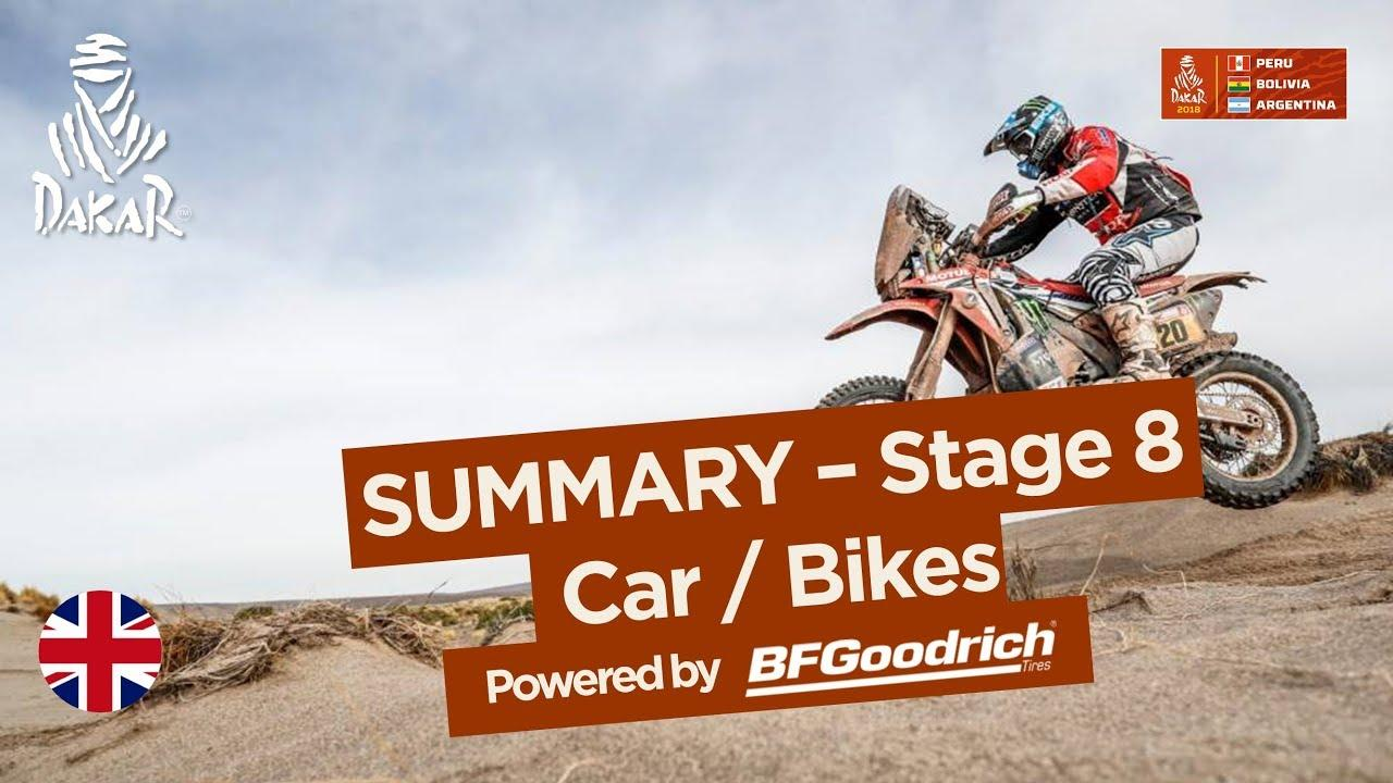 画像: Summary - Car/Bike - Stage 8 (Uyuni / Tupiza) - Dakar 2018 youtu.be
