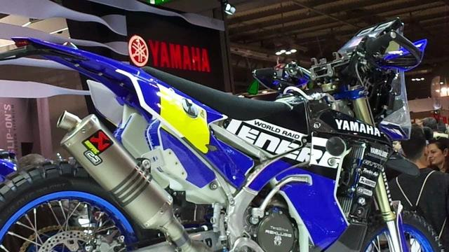 画像: Yamaha WR450F Rally Replica on EICMA 2017 youtu.be