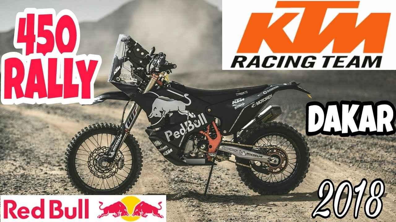 画像: KTM DAKAR 2018 RED BULL 450 Rally youtu.be