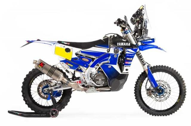 画像: YAMAHA WR450F Rally Replica