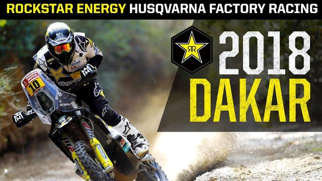 画像: 2018 Dakar | Rockstar Energy Husqvarna Factory Racing youtu.be