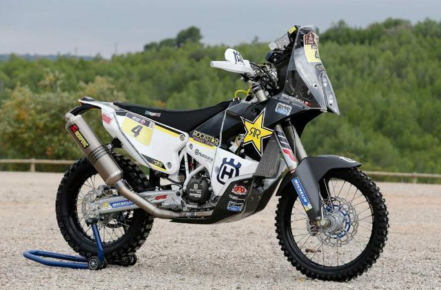 画像: Husqvarna FR 450 Dakar
