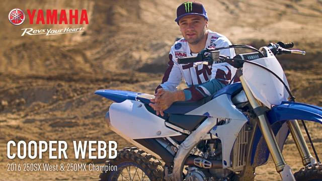 画像: The 2018 Yamaha YZ450F With Cooper Webb And Romain Febvre ヤマハUSAによる公式PV youtu.be