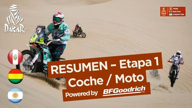 画像: Resumen - Coche/Moto - Etapa 1 (Lima / Pisco) - Dakar 2018 youtu.be