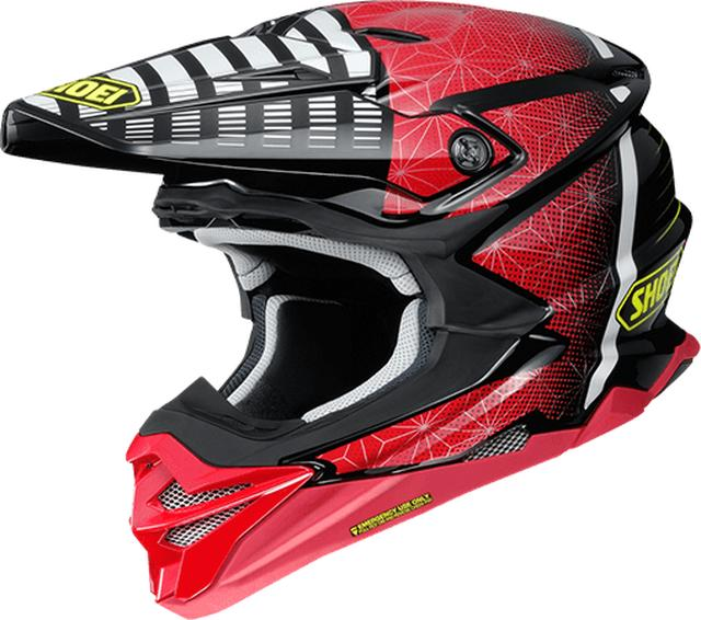 画像: SHOEI VFX-WR BLAZON TC-1(RED/BLACK)