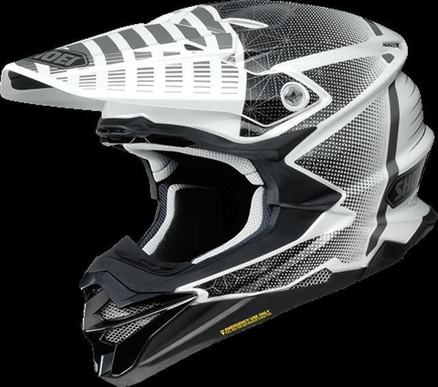 画像: SHOEI VFX-WR BLAZON TC-6(WHITE/BLACK)