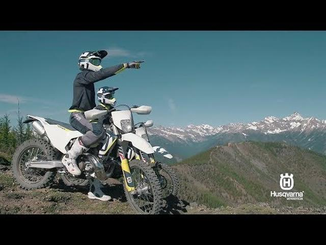 画像: 2018 new Husqvarna Enduro 2-Sroke 'Explore uncharted territory' promo video youtu.be