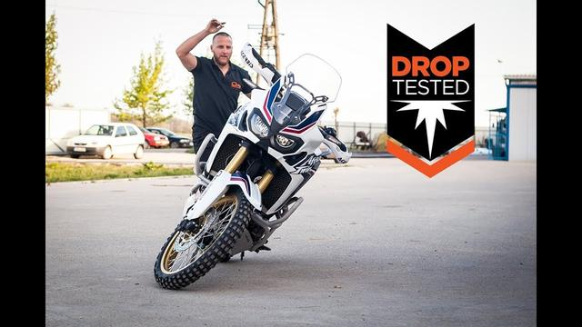 画像: Africa Twin Drop Tested Crash Bars - Outback Motortek youtu.be
