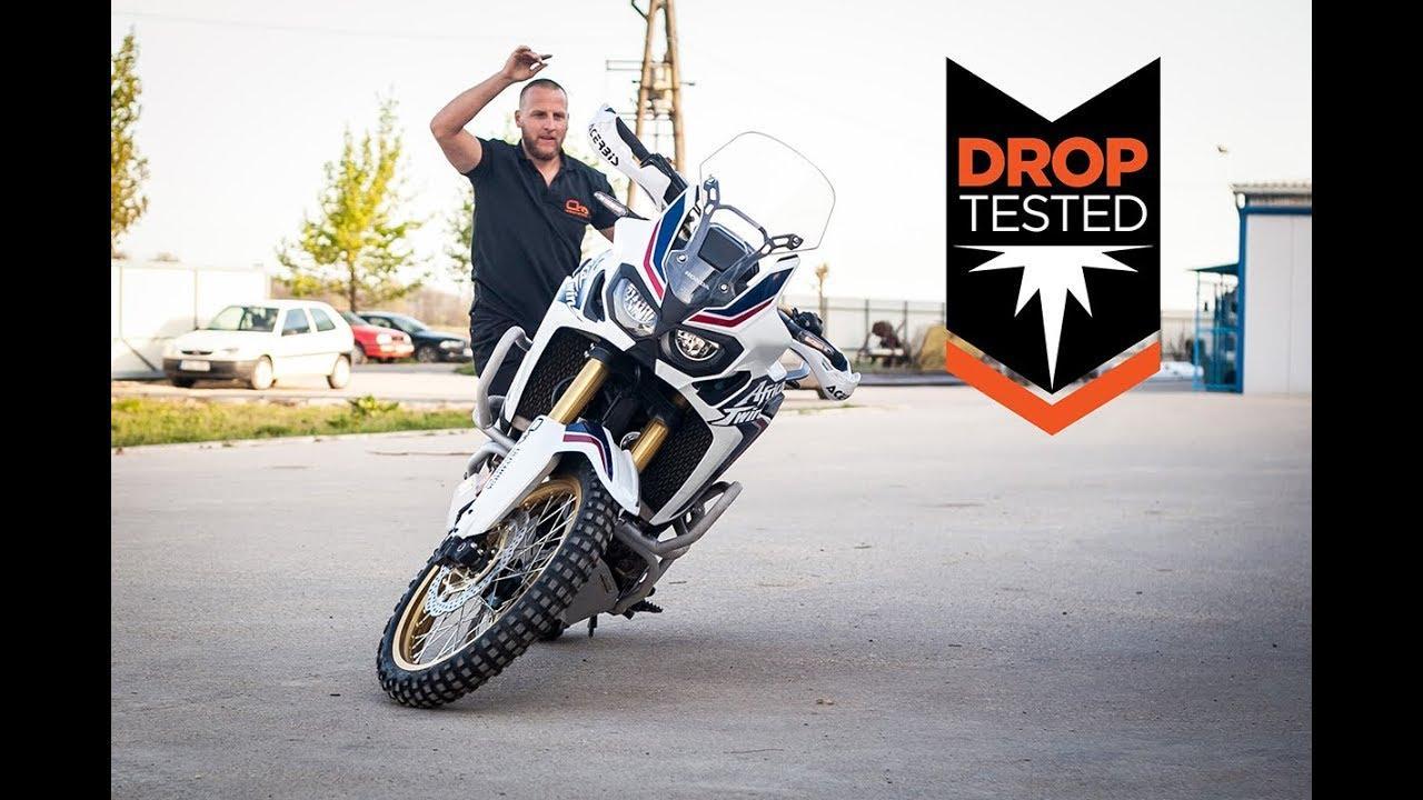 画像: Africa Twin Drop Tested Crash Bars - Outback Motortek youtu.be