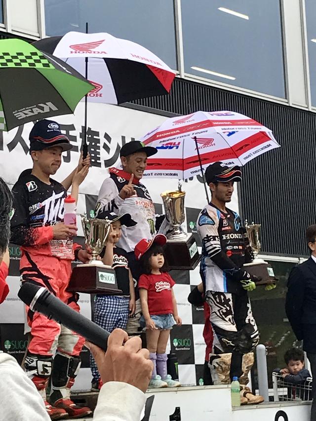画像: 全日本モトクロス Rd.3 SUGO大会、成田の勢い止まらず