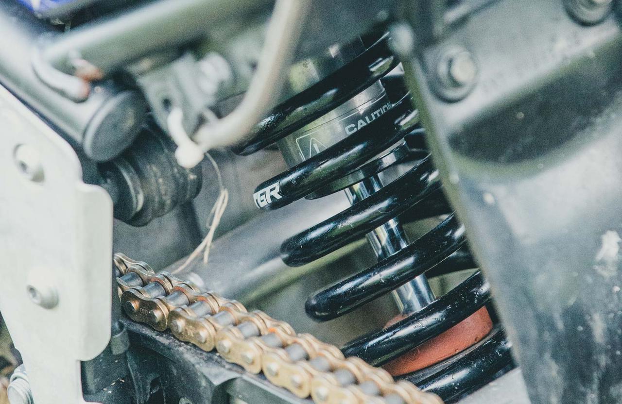 画像2: レーシング仕様に特化された各部