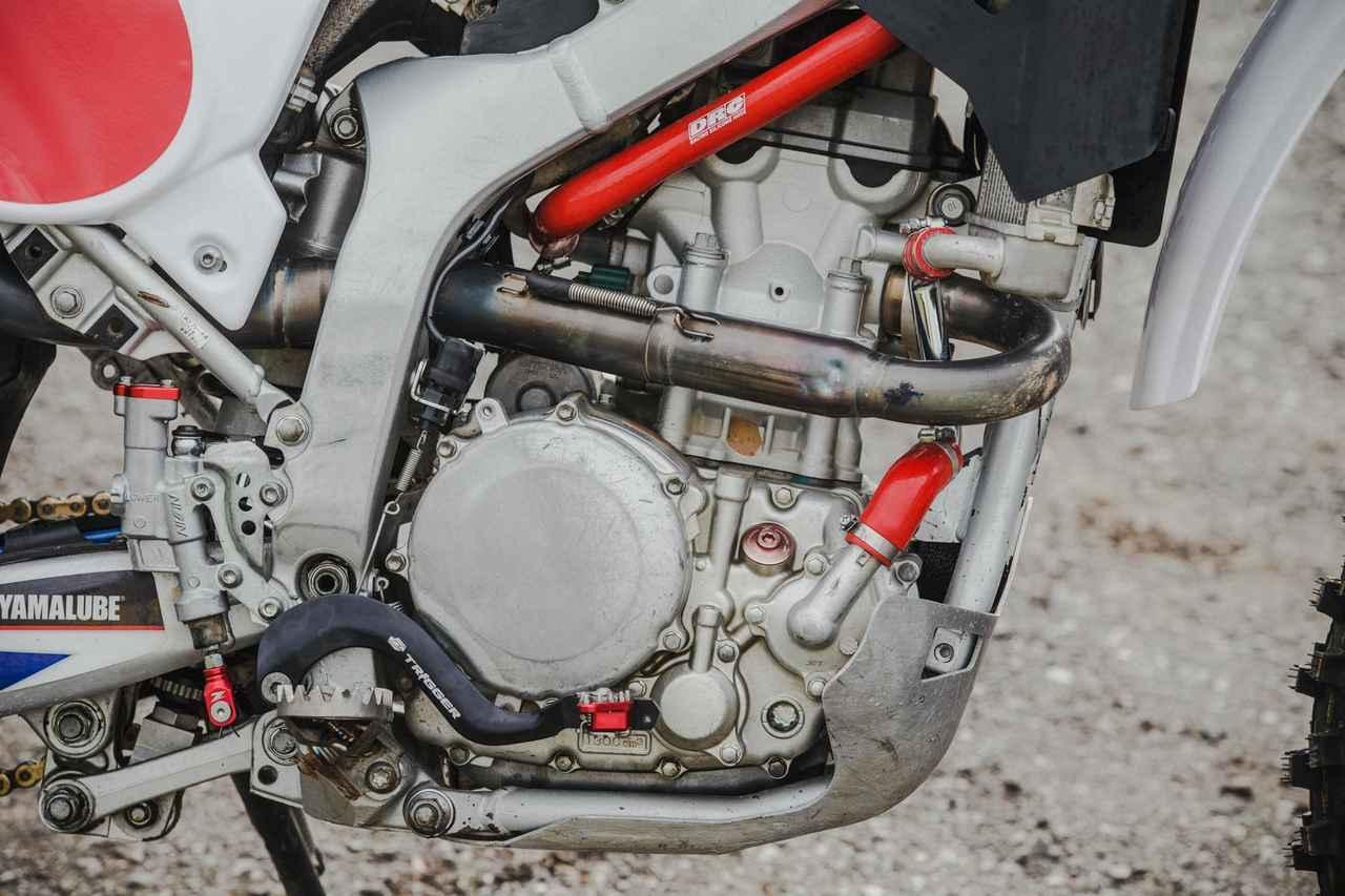 画像1: 蓄積されたWR250Rのノウハウ